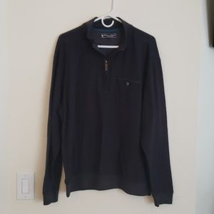 Pebble Beach pullover charcoal grey xl